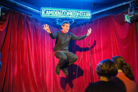 Daniel Simonsen at Camden Comedy Club